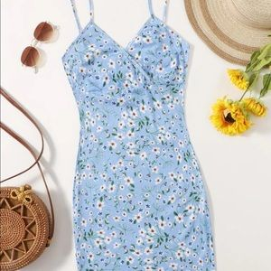 Ditsy Floral Bodycon Dress NWT